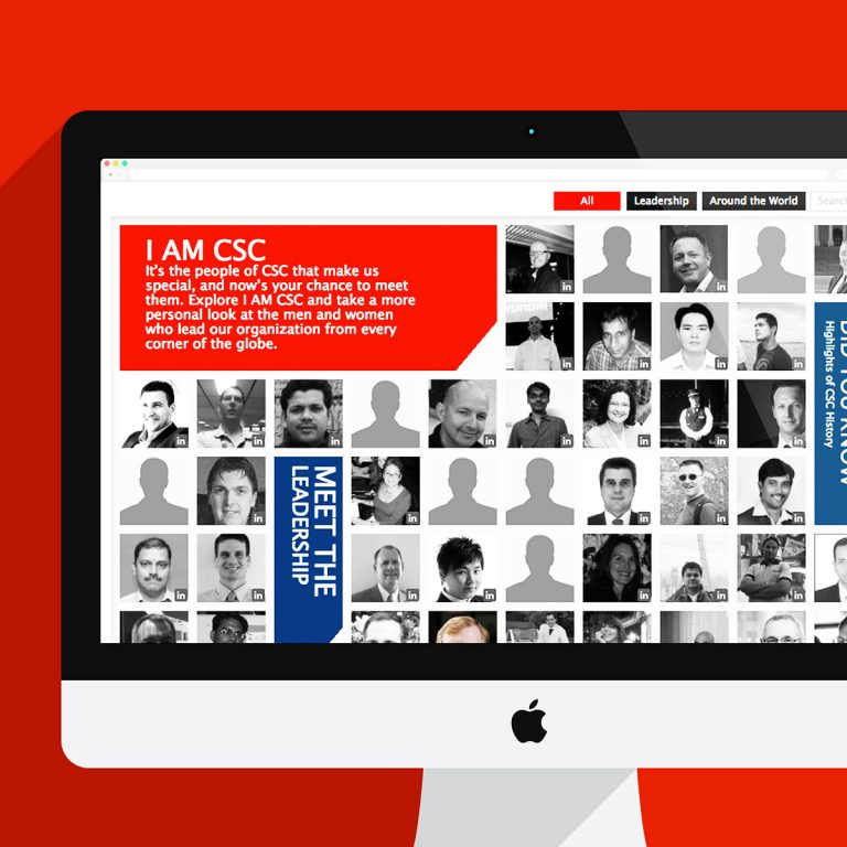 CSC Employee Directory Built in their framework work done for Viva