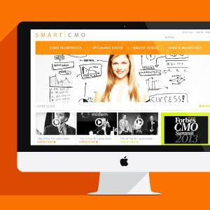 Smart CMO Website Design for Viva