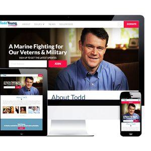 Design/UI Nationbuilder Website for BrabenderCox